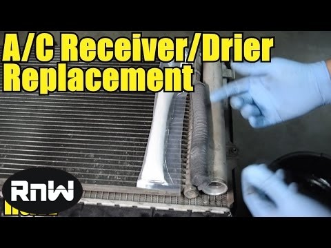 How to Replace a Desiccant Element (Receiver Drier) or an AC Condenser