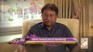 Gen. Pervez Musharraf on Joining Pakistan SSG - Salam-e-Jahan Ep 7 Clip 6
