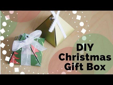 DIY : Christmas Gift Box