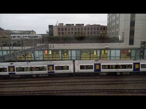 Early Morning Time-lapse of Tower Gateway DLR and c2c Trains into Fenchurch Street