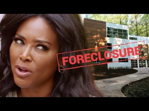 Breaking - Kenya Moore Could Lose Her Home Over $7000 Tax Debt