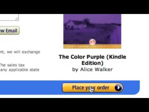 How To Give A Kindle Book