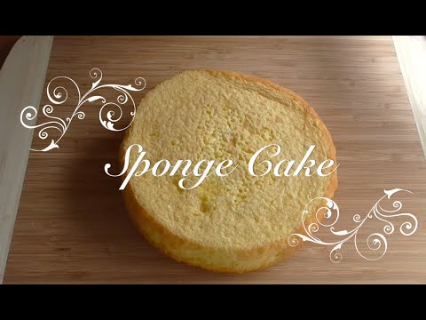 How to Make Sponge Cake recipe (resep kue bolu)