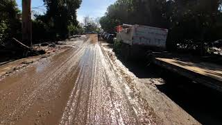Catastrophic Southern California Flash Flooding 1/10/18: Olive Mill Road Montecito
