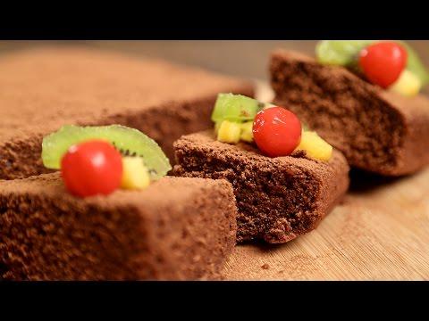 Simple Chocolate Sponge Cake Recipe | Quick & Easy Dessert Recipe | Beat Batter Bake With Upasana