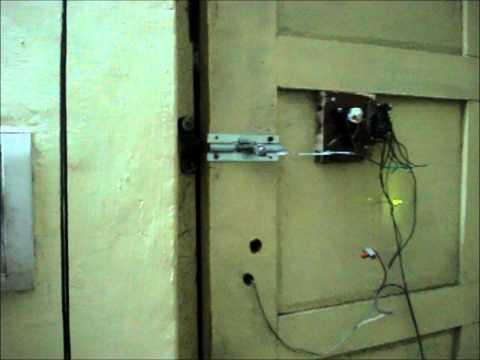 DIY Wire Less Door Lock  (Home Made).