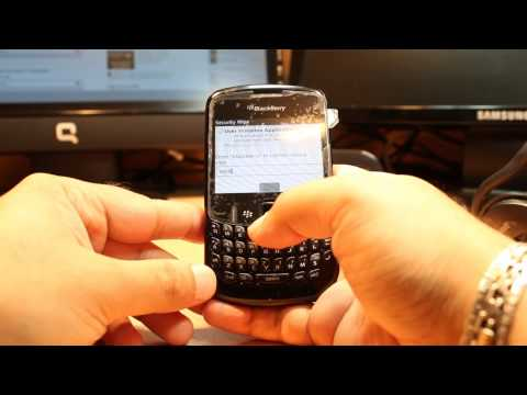 Hard Factory Reset to BlackBerry curve 8520