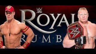 WWE Brock Lesnar Losing Universal Title Soon! ROYAL RUMBLE 2018 JOHN CENA  news headlines wwe 2017