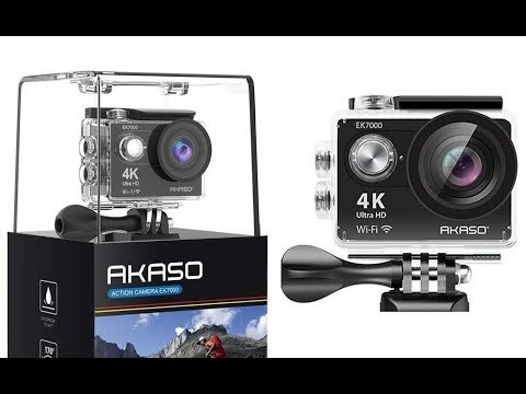 Akaso EK7000 Action Camera Review! Beginners 'GoPro'?