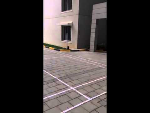 Sobha saffron outdoor badminton court