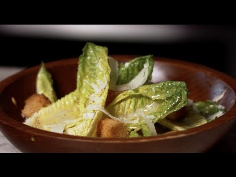 Caesar Salad the Old School Way