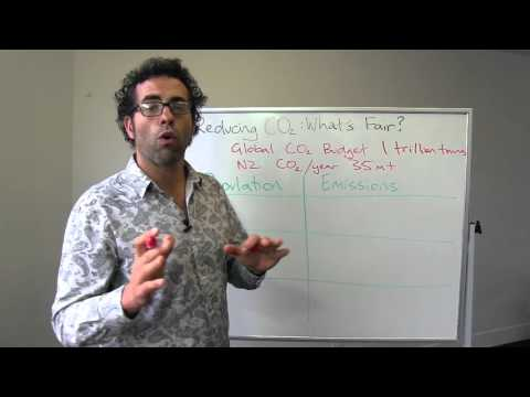 Reducing CO2 - what's fair for NZ? - Whiteboard Friday
