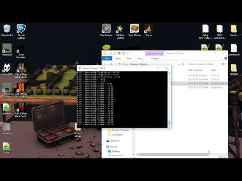 How to make a Terraria server 1.3 (HOW TO PORT FORWARD FOR IT ON A CISCO ROUTER)