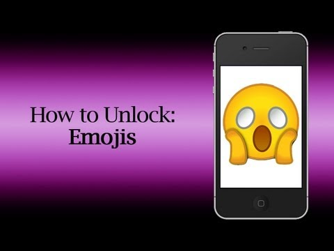 How to Unlock Emojis/Smileys on iOS