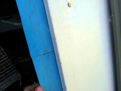 Tin Shed Door Repair