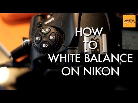 How to Custom White Balance a Nikon Digital SLR | Photography Tutorial