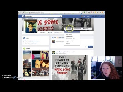 How to; restrict people from seeing your #facebookposts