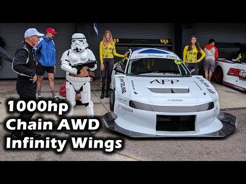 Chain Driven AWD   1000hp   Infinity wings   Andy Forrest's