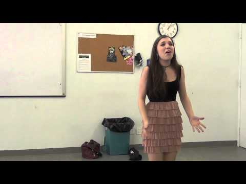 Broadway Spotted Boot Camp Audition (Singing)