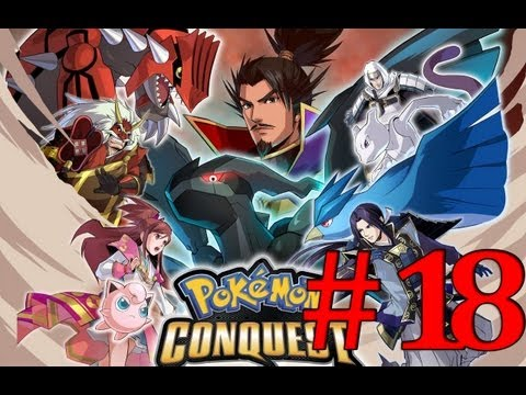 Pokemon Conquest | Guia Español | Parte 18(1/2) | La Terrible Dragnor? |