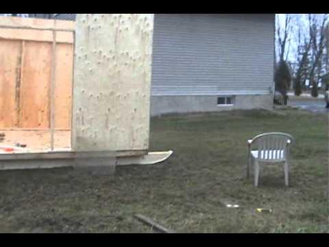 Ice Shack Build Part 2