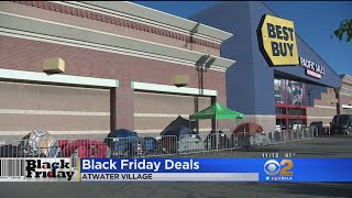 Committed Shoppers Camp Out 2 Days Before Black Friday