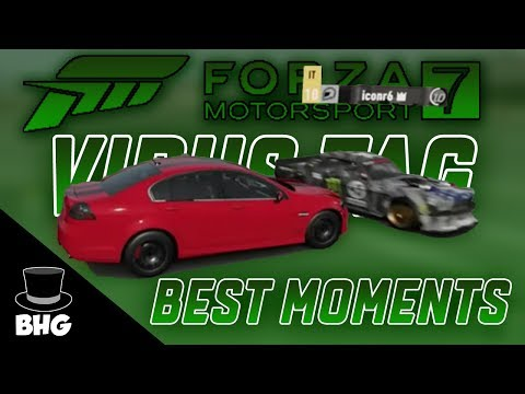 Forza Motorsport 7 Virus Tag | Best (and Weird) Moments #1