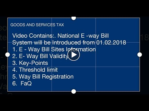 National E-way Bill System. A Complete Guide
