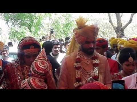 Ravindra jadeja marriage with Rivaba solanki at Rajkot