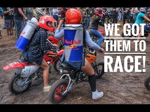 Woodsman Cup 2016 | Racing Street Bikes In the Dirt!