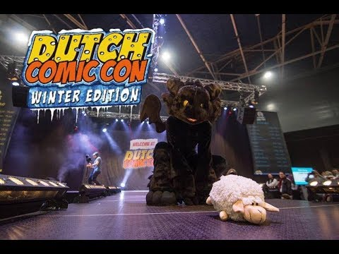 Toothless @ Dutch Comic Con (Winter Edition)