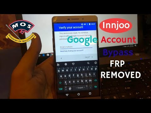 innjoo Max3 LTE Google Account Bypass FRP Removal