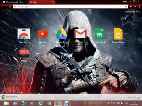 How To Use Notepad On Google Chrome Tutorial 2016 - 2017