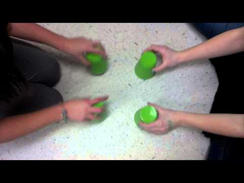 Cup Song with 2 cups!