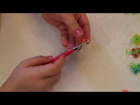 Rubber Band Rose Bouquet Charm Video Tutorial