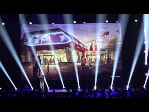 2015 D23 Expo - Parks & Resorts Presentation - Full Announcement