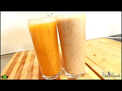 How to make Healthy juice  From Chef Ricardo Juice Bar