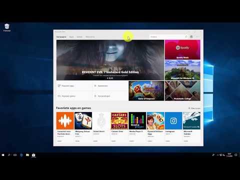 Windows 10: app downloaden