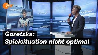 Bayerns Goretzka: Verdienter Sieg gegen Frankfurt | das aktuelle sportstudio - ZDF
