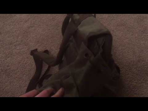 German Alpine Rucksack: Unboxing