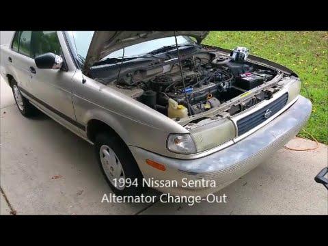 94 Nissan Sentra Alternator Change-out