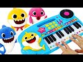 Join The Music Contest On Sharks Family Piano With Baby Shark Pinkfong PinkyPopTOY