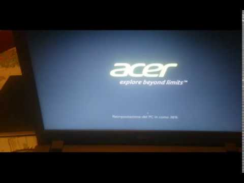 how reset acer aspire e15  when  forget password system