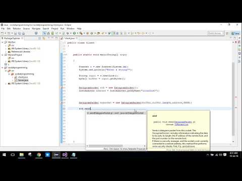 Send data from Java to C# using TCP Sockets Tutorial