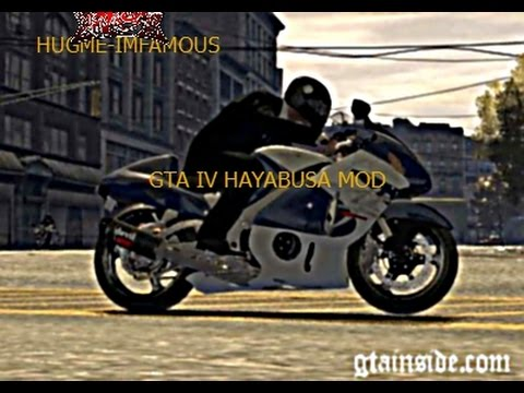 HOW TO DOWNLOAD & INSTALL HAYABUSA MOD FOR GTA IV PC VERSION FREE