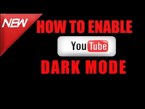 How To Enable YouTube Dark Mode | YouTube Material Design | Youtube Tips