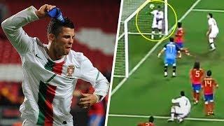 Nani FINALLY explains why he stopped Cristiano Ronaldo's legendary goal against Spain | Oh My Goal