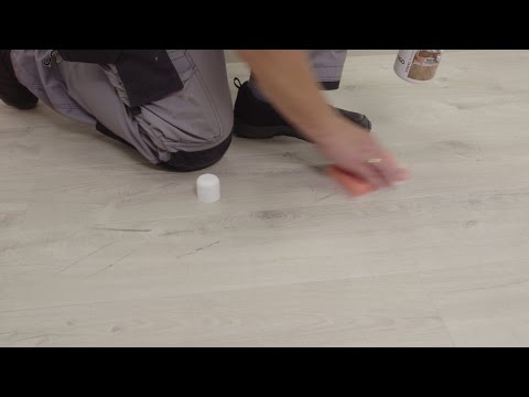 Installing Pergo vinyl flooring - How To Remove Scuff Marks From A Vinyl Floor?