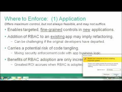 Using ANSI Role-Based Access Control to Secure Java Enterprise Applications