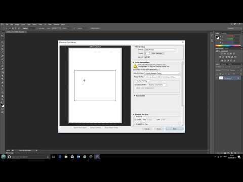 Using ICC printer profiles with Photoshop CS6